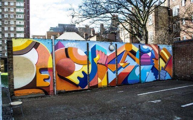 Graffiti, Tent, Art