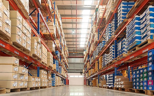 Building, Warehouse, Indoors