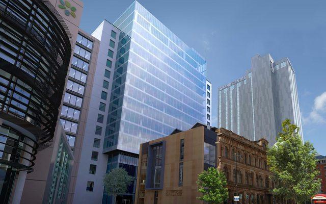 Building, Office Building, City