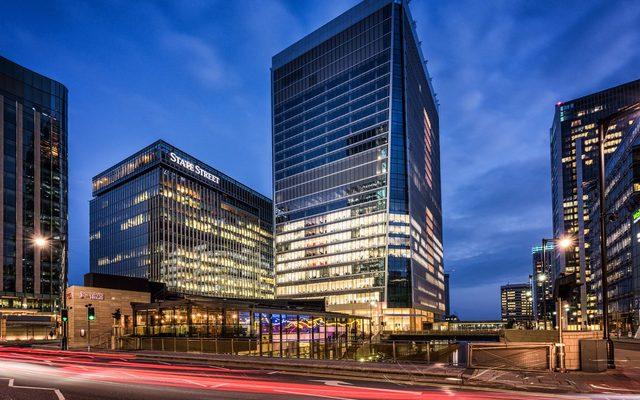 Office Building, Building, Traffic Light