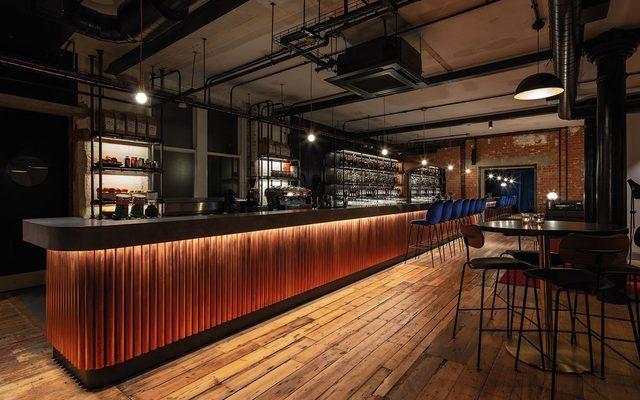 Pub, Wood, Bar Counter