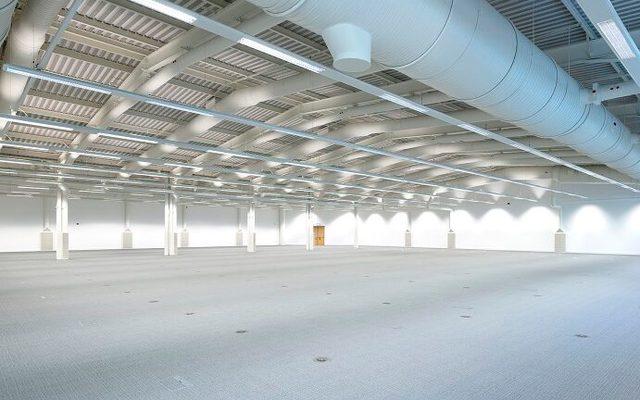 Building, Hangar, Indoors
