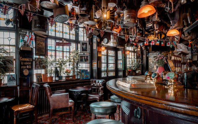 Pub, Restaurant, Bar Counter