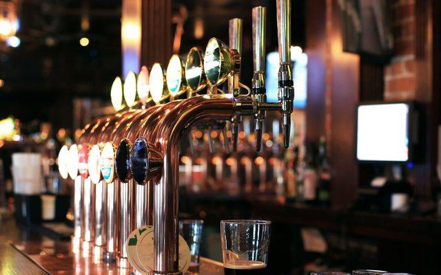Pub, Bar Counter, Drink