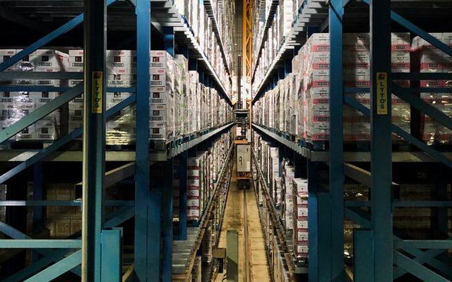 Indoors, Building, Warehouse