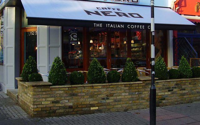 Restaurant, Cafe, Banister