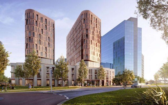 High Rise, Building, Urban
