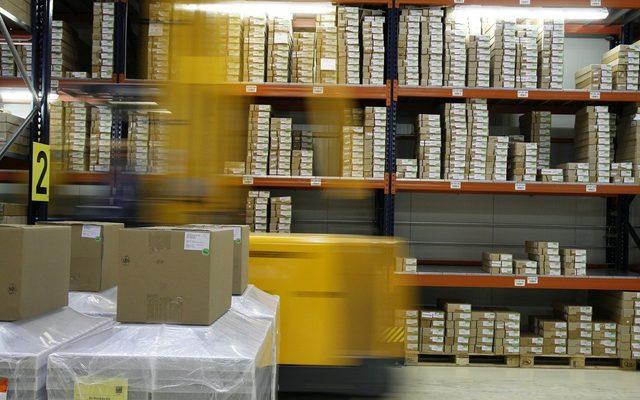 Warehouse, Building, Box