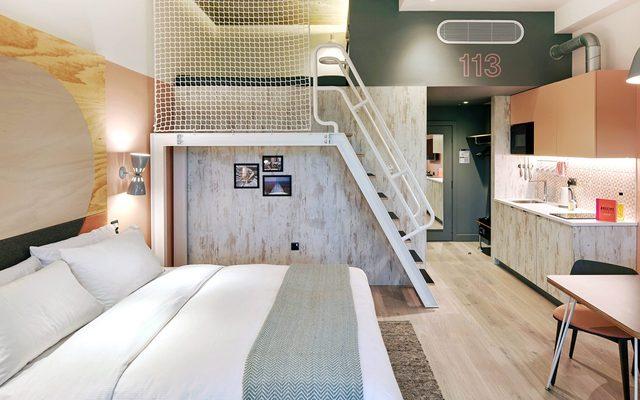 Bed, Furniture, Housing