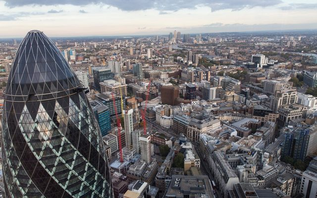 City of London skyline offices