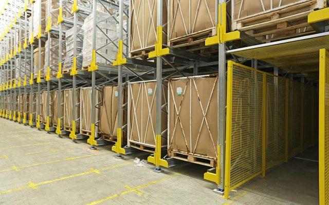 Building, Indoors, Warehouse
