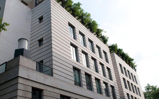 Office Building, Building, Corner