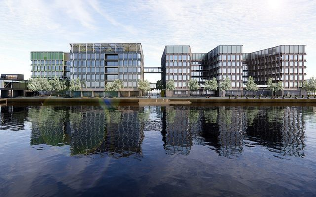 Office Building, Building, Water