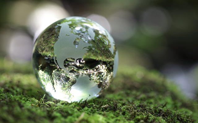 Sphere, Droplet, Green