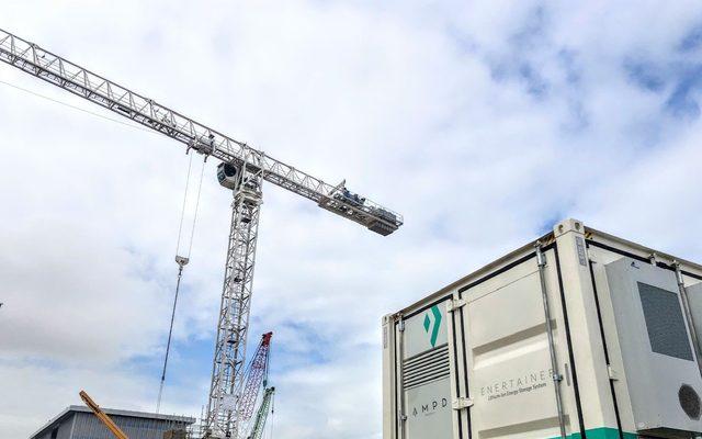 Construction Crane, Construction