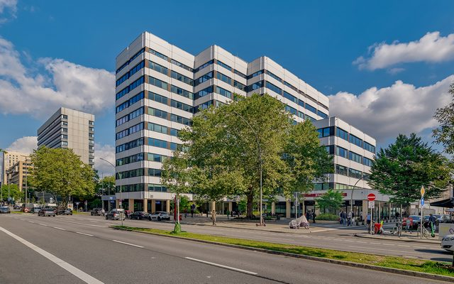 Office Building, Building, Road