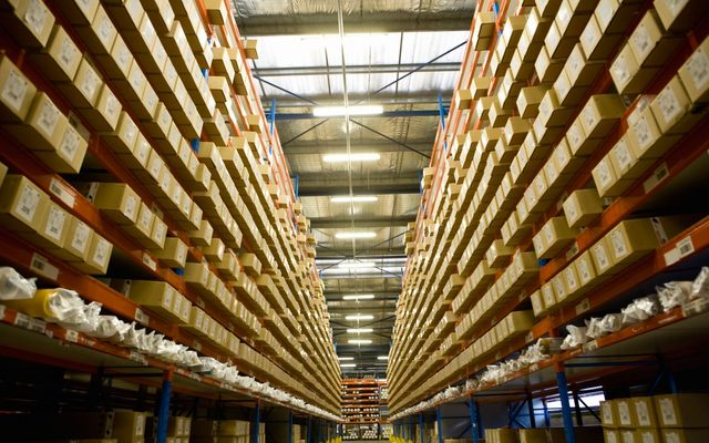 Warehouse, Building, Indoors